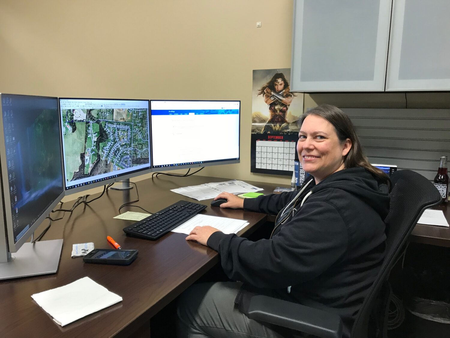 CUD's Geographic Information System Coordinator Bethany Hall